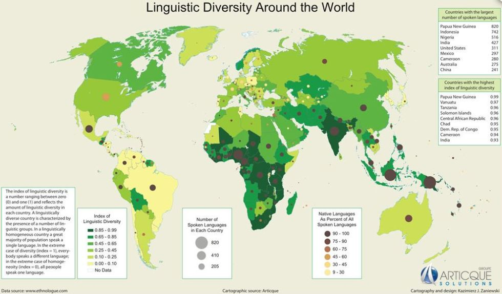 Maps For Language Lovers Esperanza Education - Cameroon language map