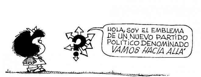 Mafalda Political Cartoon