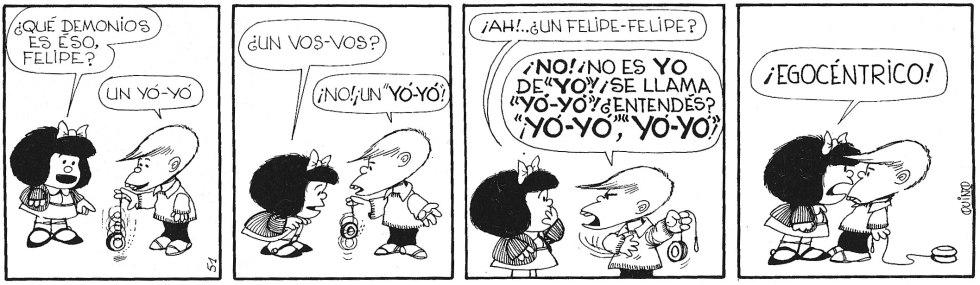 Mafalda yo-yo comic