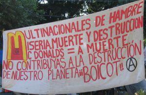 McDonalds Boycott - Oaxaca, Mexico