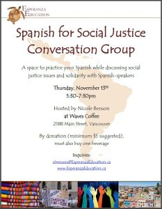 Conversation Group Flyer
