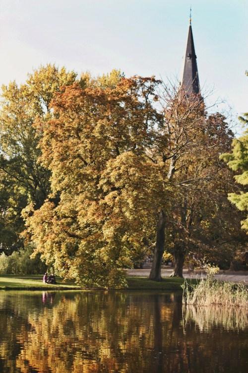 Autumn in Amsterdam, Vondelpark