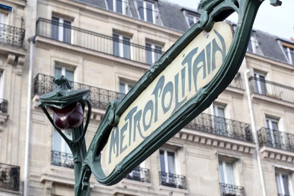 Métro parisien, Paris