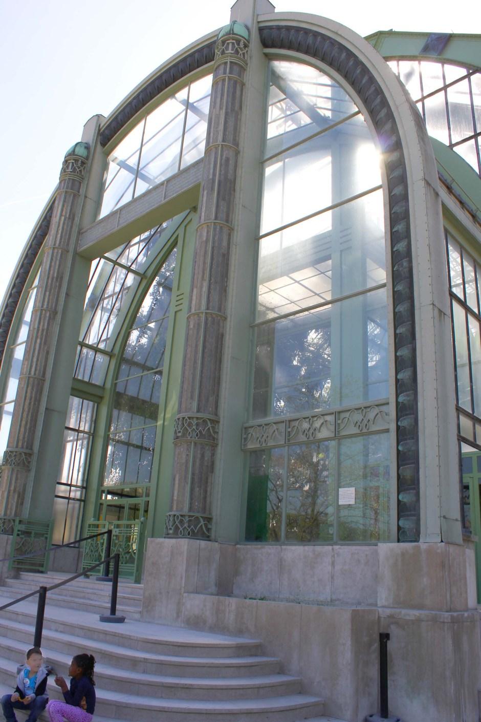 Grandes serres, Jardin des Plantes de Paris