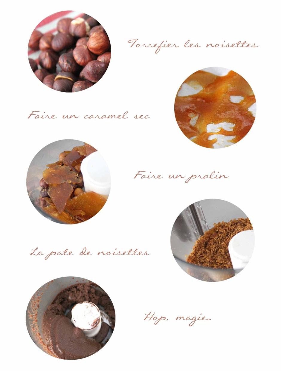 Recette du nutella maison de michalak par le blog esperluette