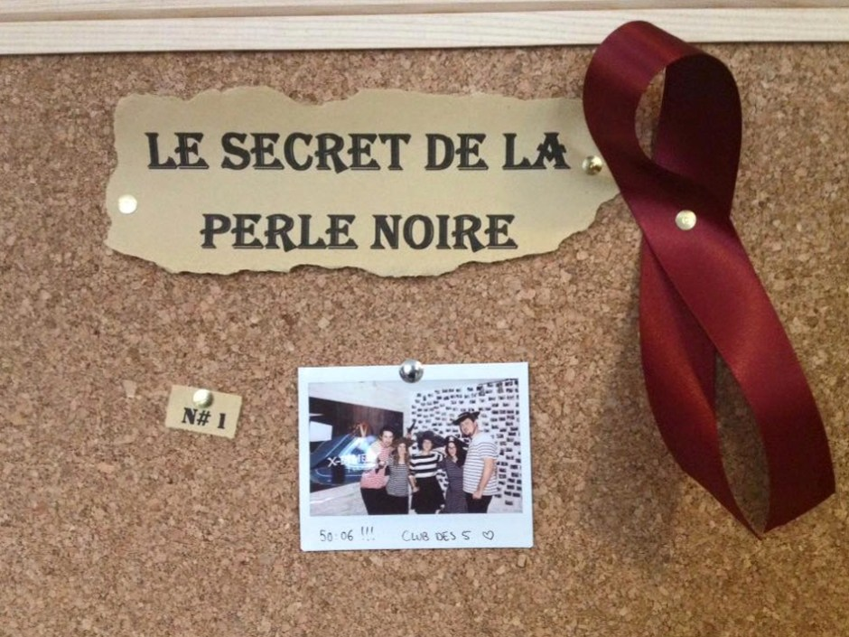 xdimension, escape game Le Secret de la Perle Noire
