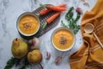 Recette du velouté carottes navet poire