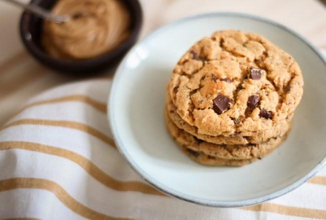 Recette cookies beurre de cacahuètes
