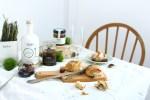 Recette pains aux olives, miel et romarin