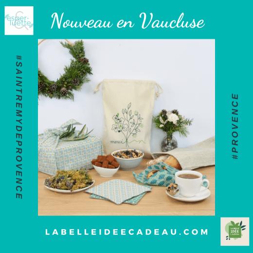 labelleideecadeau.com pour faire des beaux cadeaux venus de Provence et éco-responsable