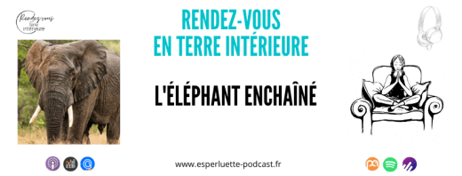 Rendez-vous en terre intérieure sur Esperluette Podcast - L'éléphant Enchaîné