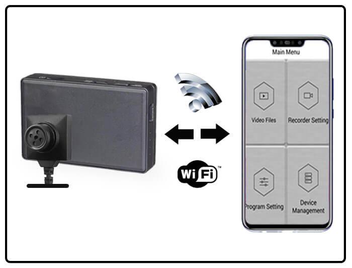 Cámara boton WIFI para copiar en examen