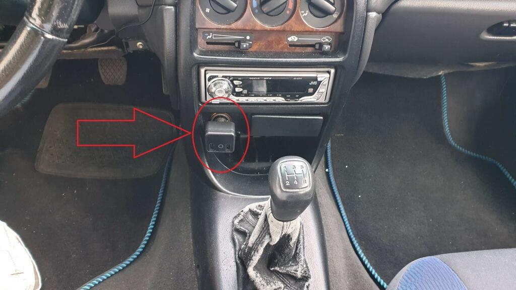 GPS espía oculto en un objeto cotidiano
