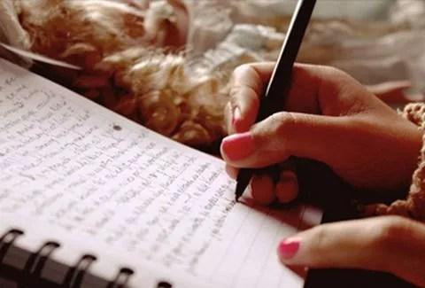 escrever um sonho