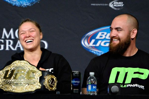Image result for Travis Browne and Ronda Rousey