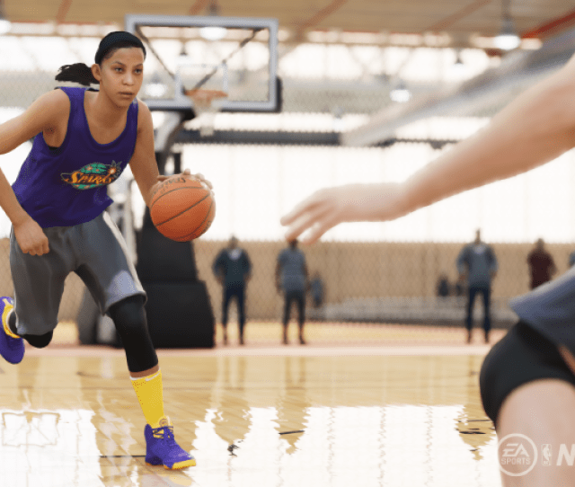 Candace Parker Will Be One Of Three Wnba Players Featured As An Icon In Nba Live