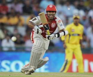 Paul Valthaty scored the first century in IPL 2011 to lead Kings XI Punjab's chase of 188 in Mohali