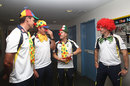Australia players prepare to meet patients on a visit to Sydney Children's Hospital
