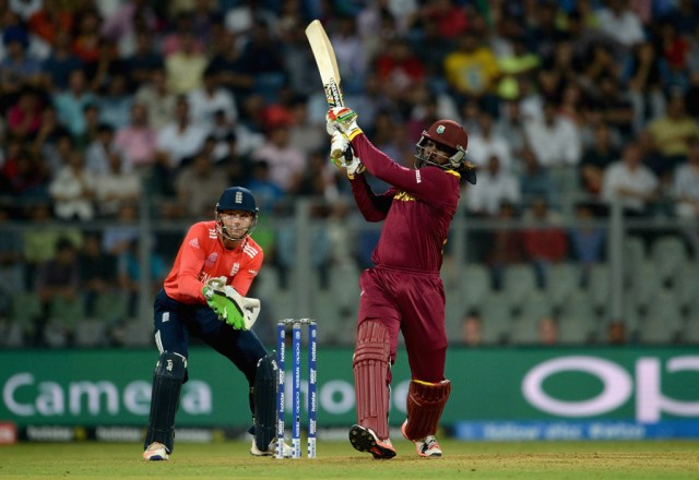 "Chasing 182 for 6 in their first match, <a href=""http://www.espncricinfo.com/icc-world-twenty20-2016/engine/match/951331.html"" target=""_blank"">against England</a>, Chris Gayle lit up the Wankhede Stadium by making 100 off 48 balls, leaving little for his team-mates to do. West Indies won by six wickets and 11 balls to spare."