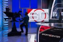 The new set of SportsCenter. (Rich Arden/ ESPN Images)