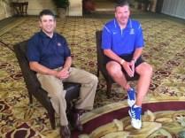 Andy Katz with Creighton head coach Greg McDermott. (Photo courtesy of Andy Katz)