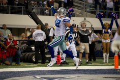 Dallas Cowboys TE Jason Witten (82) scored in this 2010 Monday Night Football game versus the New York Giants at Cowboys Stadium. (Scott Clarke/ESPN Images)