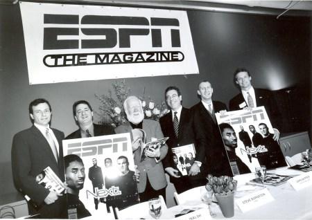 1998 launch of ESPN The Magazine. (Steve Friedman/ESPN Images)