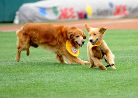 Derby and his son, Rookie. (Photo courtesy E:60)