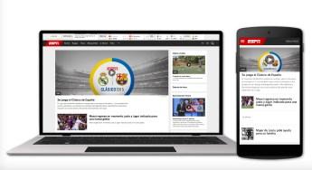 ESPN Argentina is one of six Spanish-language websites ESPN relaunched Dec. 1.