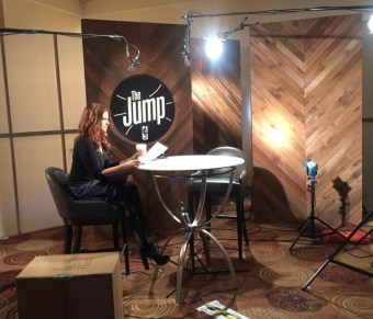 Rachel Nichols hosts ESPN's new daily NBA show, The Jump. (Photo courtesy of Rachel Nichols' Instagram)