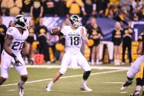 Michigan State quarterback Connor Cook had consecutive 24-touchdown -pass seasons. (Scott Clarke/ESPN Images)