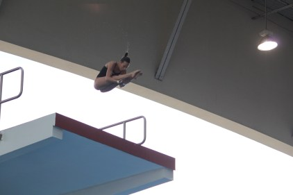 Jessica Parratto will compete in the 10-meter platform diving preliminaries today in Rio. (Photo courtesy of USA Diving)