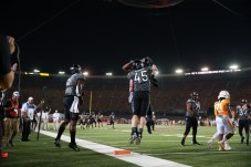 Virginia Tech vs. Tennessee at Bristol Motor Speedway. (Allen Kee/ESPN Images)