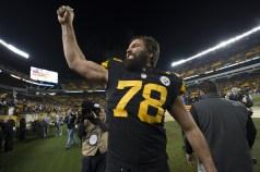 Pittsburgh Steelers OT Alejandro Villanueva is a former Army Ranger. (Pittsburgh Steelers / Karl Roser)