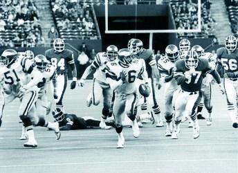 Former Eagles defensive back Herm Edwards (Photo courtesy of the Philadephia Eagles)