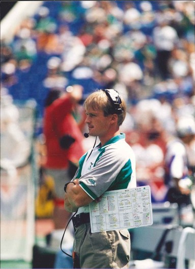 Former Eagles offensive coordinator Jon Gruden (Photo courtesy of the Philadephia Eagles)