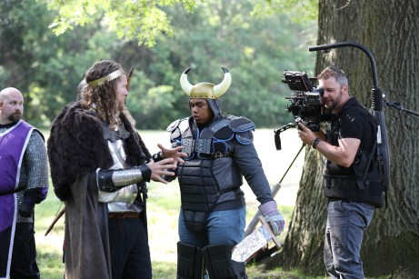 "The main actors in the shoot were LARPing ""rookies."" (Allen Kee/ESPN Images)"
