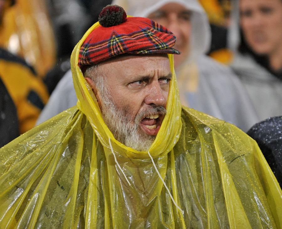 A skót szurkolókat szinte hazai körülmények fogadták - a képek az espnscrumról származnak