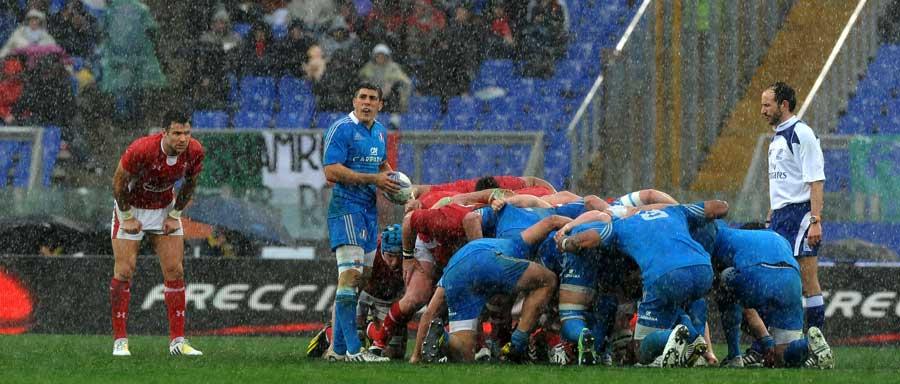 Eső és sár Rómában
