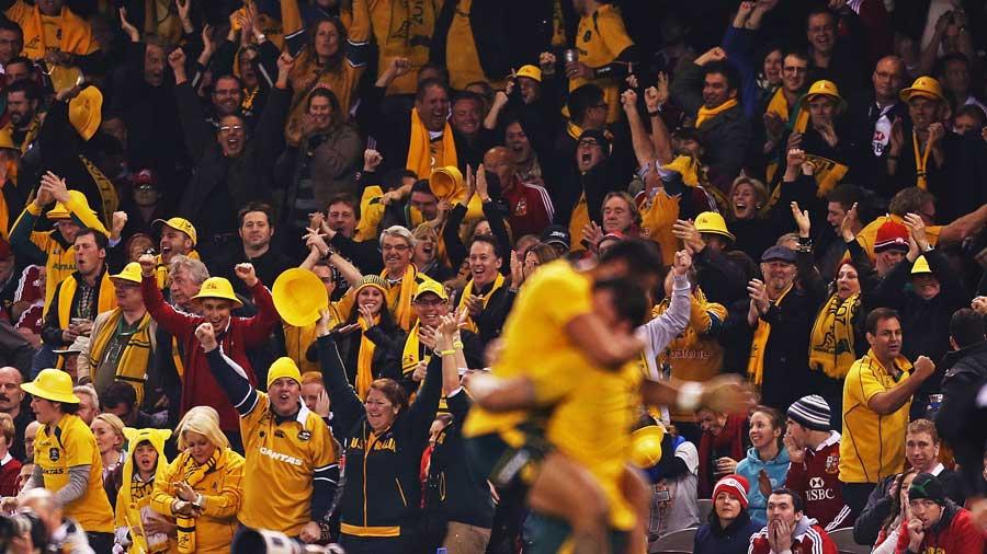 Ausztrália-Lions: 16-15