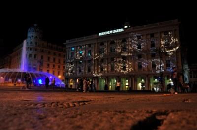 Piazza De Ferrari. Start Genova 2011. Photo Matteo Zappettini