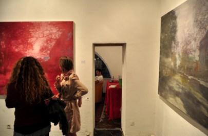 """Enrico Ingenito - Nicola Villa, """"Tessuto metropolitano/Estrapolazioni"""". Courtesy OpenLab ArtistiOggi. Photo Matteo Zappettini"""