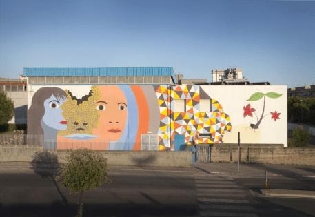 Dem, pittura murale, 2011