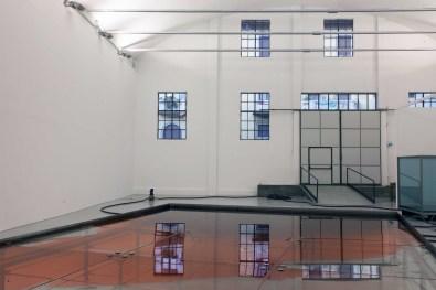 """Per Barcley - Veduta dell'installazione """"Rosso Ribera"""", Galleria Giorgio Persano"""