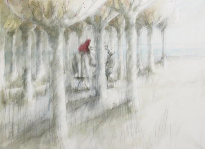 """""""Alberi di fragole"""", 2011, cm 130x95"""