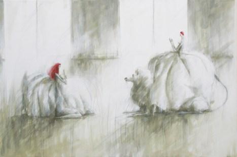 """""""Maestra"""", 2011, cm 150x100"""