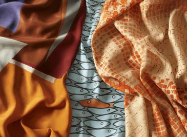 """""""Metri d'arte""""... la prima collezione di tessuti d'artista Miroglio Textile"""
