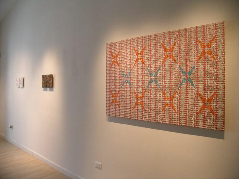 Vincenzo Marsiglia, Mapping The Stars, veduta della mostra da Lotf Gallery