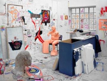 Urs Fischer, Madame Fisscher, 1999–2000 Studio of the artist in London, mixed media. 265 x 796 x 476 cm. Hauser & Wirth Collection, Switzerland. © Urs Fischer. Courtesy of the artist and Galerie Eva Presenhuber, Zurich. Photo: Stefan Altenburger