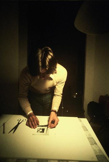 Giulio Paolini, Backstage of Unisono, 1974. Photo: Gianni Melotti. Courtesy: la Biennale di Venezia